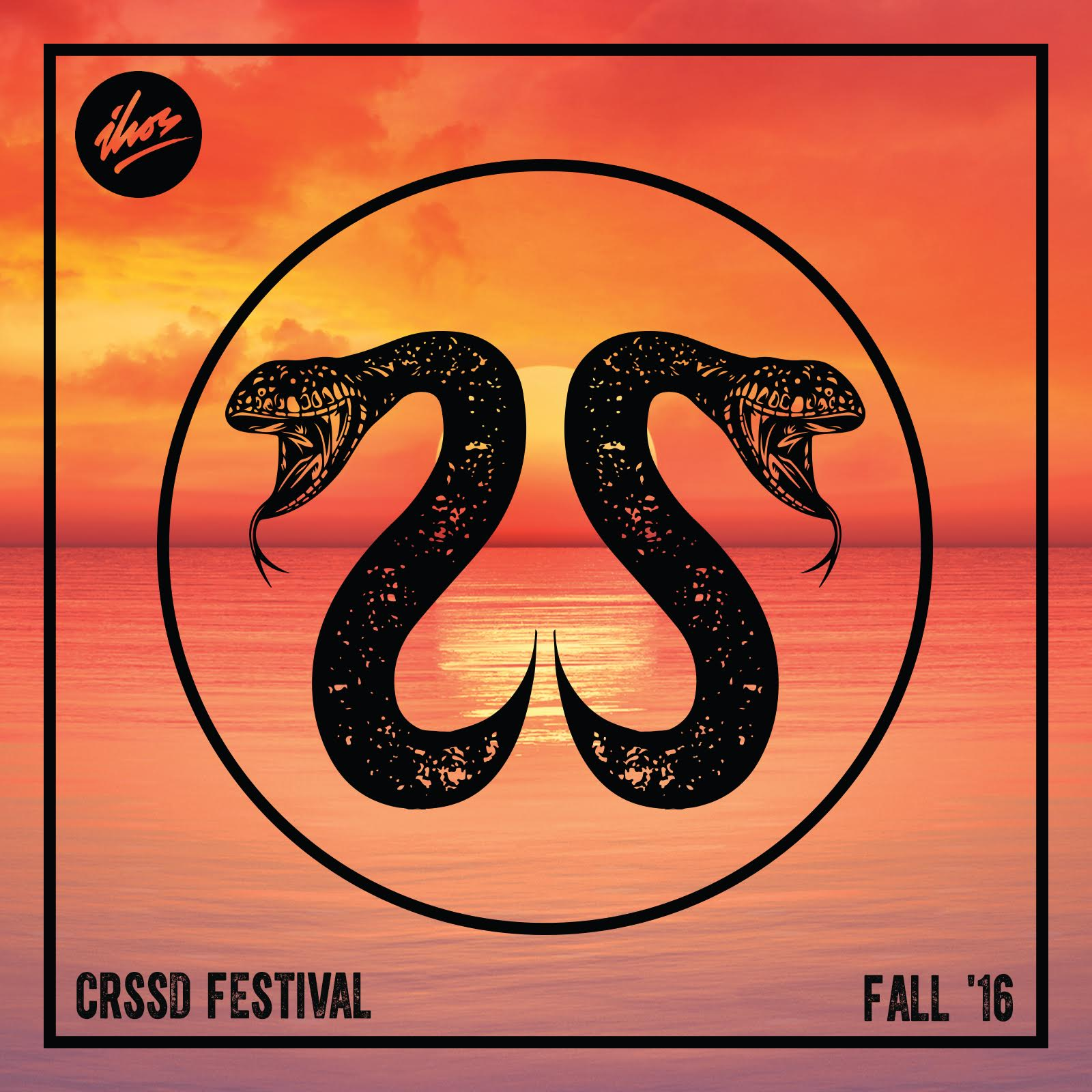 CRSSD Fest Fall 2016 Compilation Sampler Cover